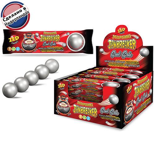 Многослойная конфета с надувной резинкой JAWBREAKER Зубодробилка Cool Cola