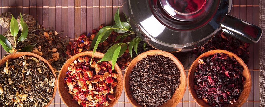Травяные, фруктовые смеси и чайные напитки