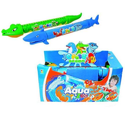 Аквамания Водная помпа в виде акула/крокодил 46 см