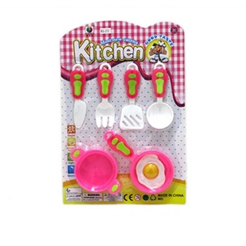 Набор посуды цветной GoodTasti
