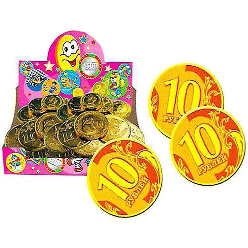 """Монетка золотая """"10 рублей"""""""