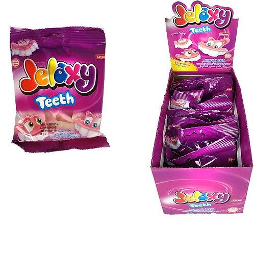 Jelaxy Teeth Зубы Жевательный мармелад с фруктовым соком