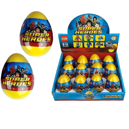 """""""SUPER HEROES"""" в пластиковом яйце"""