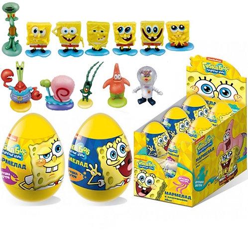 """SPONGE BOB"" Мармелад в пластиковом яйце с игрушкой"