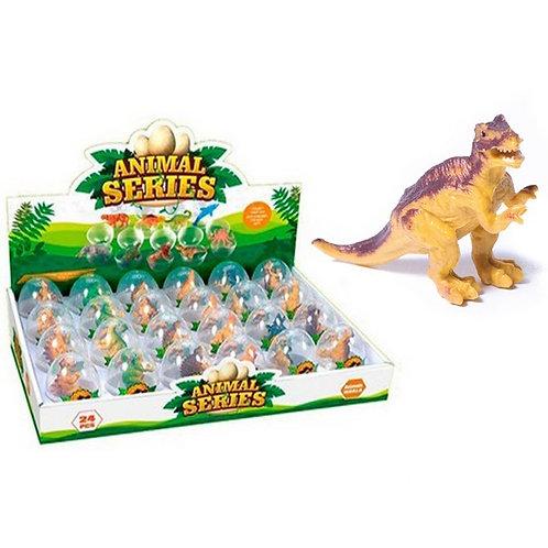 Динозавры в ассортименте в яйце в шоу-боксе