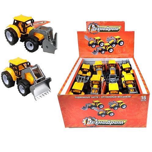 Машинка с механизмом Pull Back Truck Toys