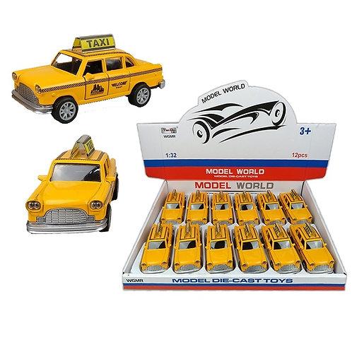 Металлическая машинка Такси Model World WGMR-MET-36