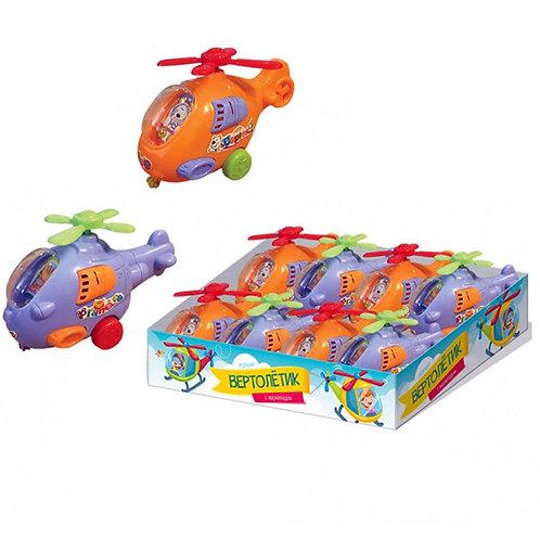 Мармелад в сахарной глазури с игрушкой Вертолет