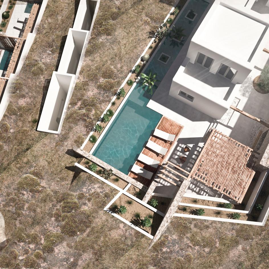 Complex in Fanari,Mykonos