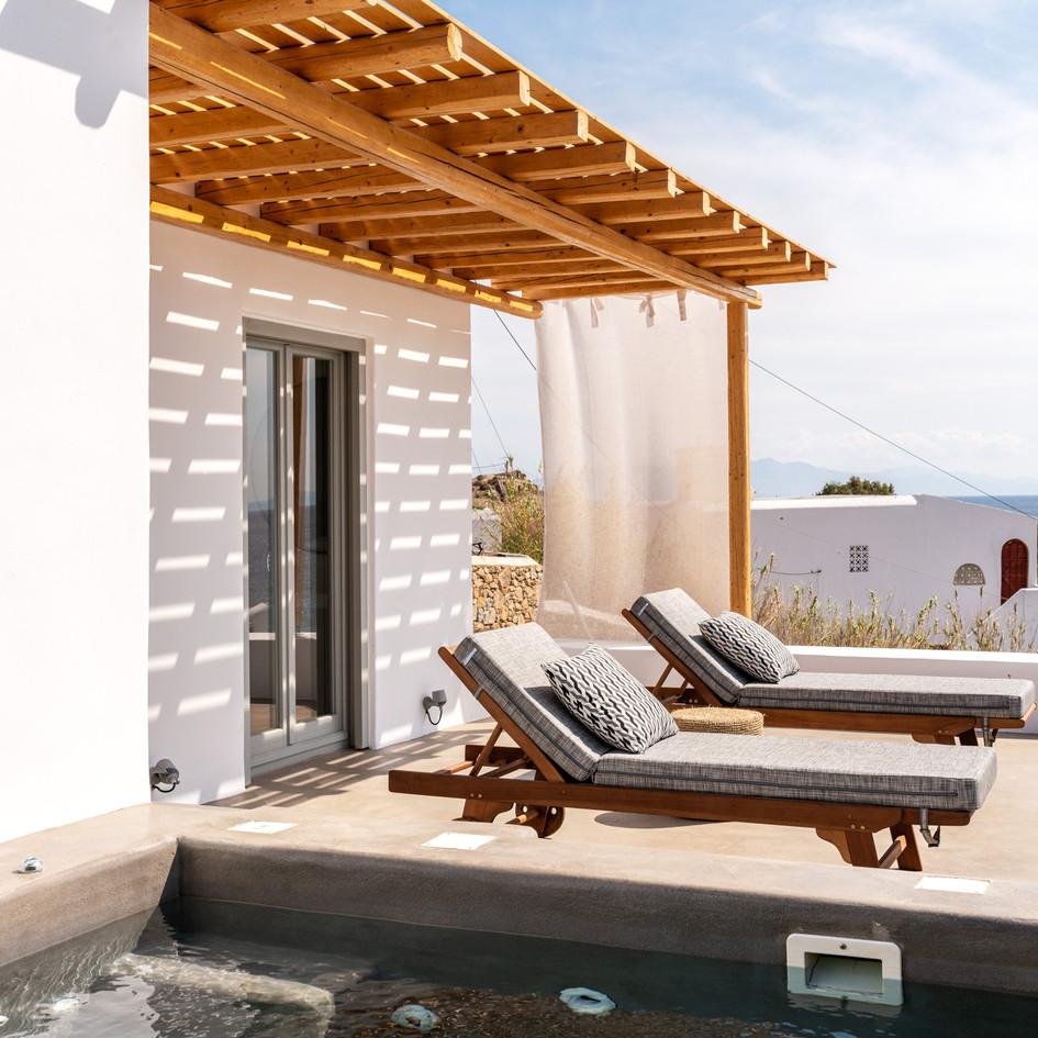 Boutique hotel in Platis Gialos,Mykonos