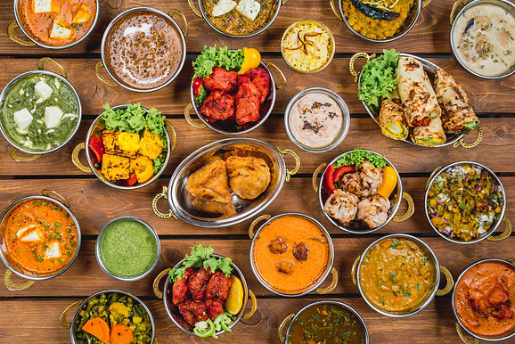 THE COLONIAL BRITISH INDIAN CUISINE - IN