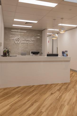East tamworth dental care reception 2.jp