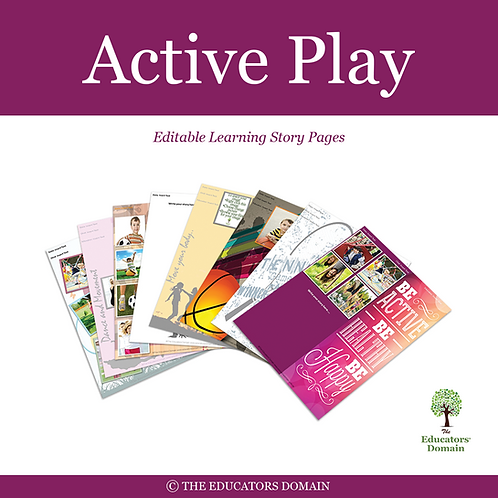 Active Play Learning Story Pack