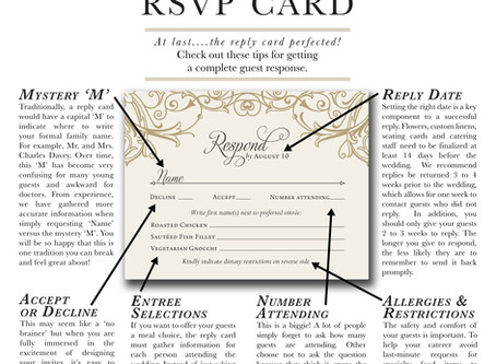 CRAFTING THE PERFECT RSVP CARD