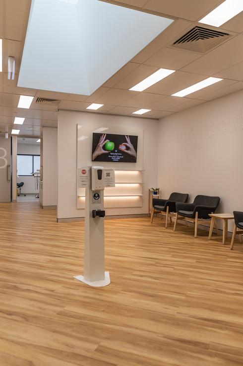 East tamworth dental care reception 1.jp