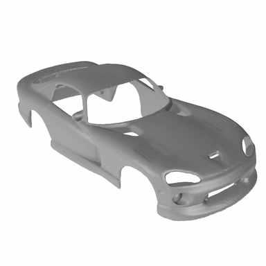 3D Scan - Modellauto