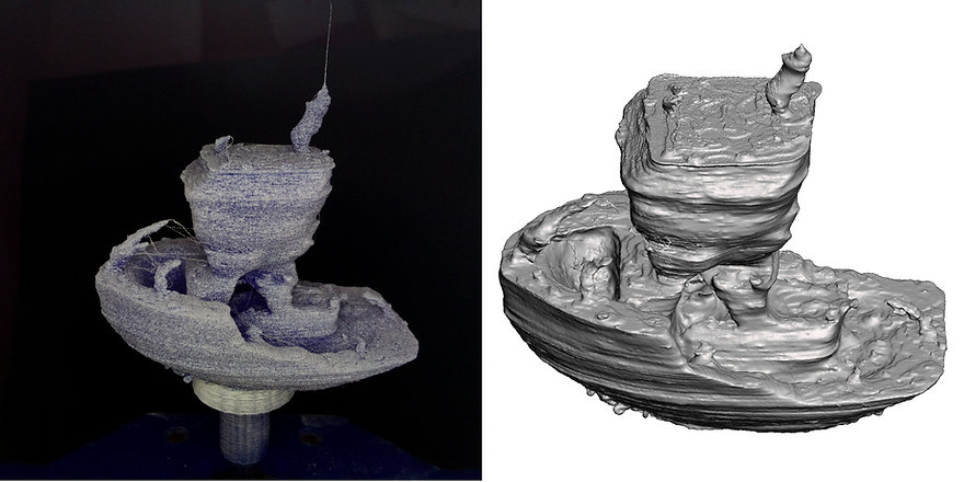 Benchy050-3D-scan with OpenScan Pi-combi