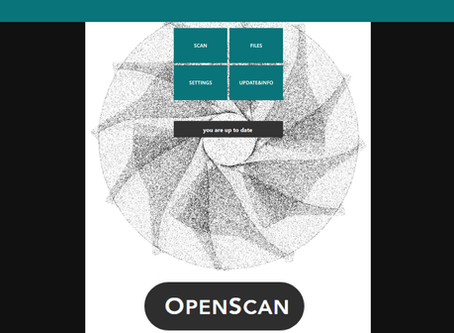 Simplified User Interface for OpenScan & Mini