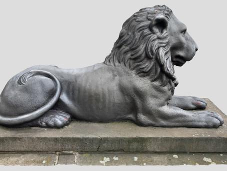 ScanTheWorld - Lion Sculpture in Halle (Saale)
