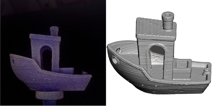 Benchy000-3D-scan with OpenScan Pi-combi