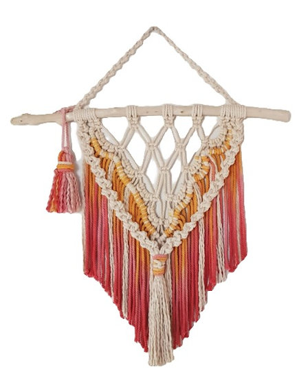 FRAY & KNOT MACRAME HANGING - FIRE FAIRY