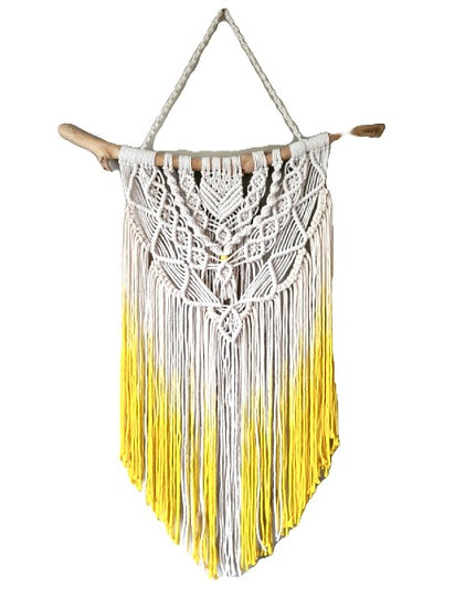 FRAY & KNOT MACRAME HANGING - LITTLE LIGHT IN MY HEART