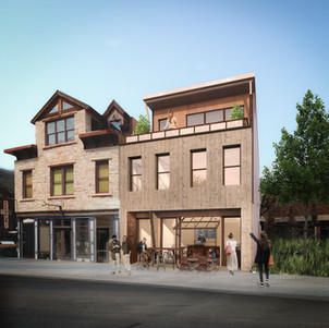 RENDERING MIXED USE PROJECT