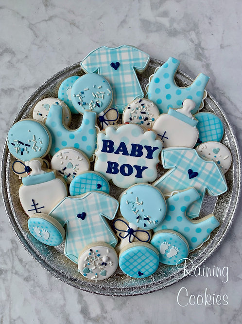 It's A Boy! Platter