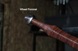 Longsword wheel pommel