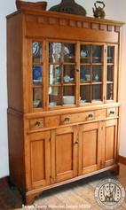 Oldest dated Hackensack Cupboard 1802