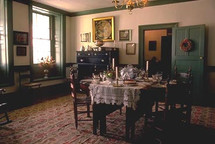 South Parlor at the Steuben House