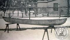 Hackensack Indian Dugout canoe