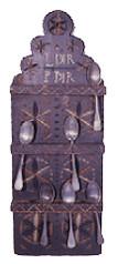 Hackensack Valley spoon racks