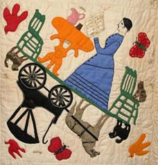 Betsy Haring Applique Quilt