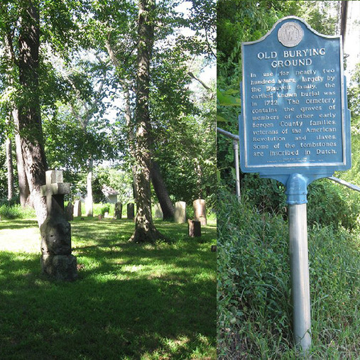 Old Burying Ground Harrington Park