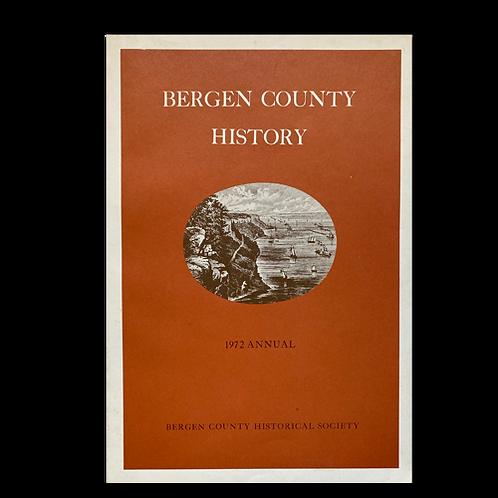 Bergen County History, 1972