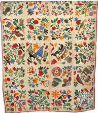 Betsy Haring Applique Quilt