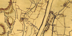 Plan of the country at and in the vicinity of Forts Lee and Independency [Washington]
