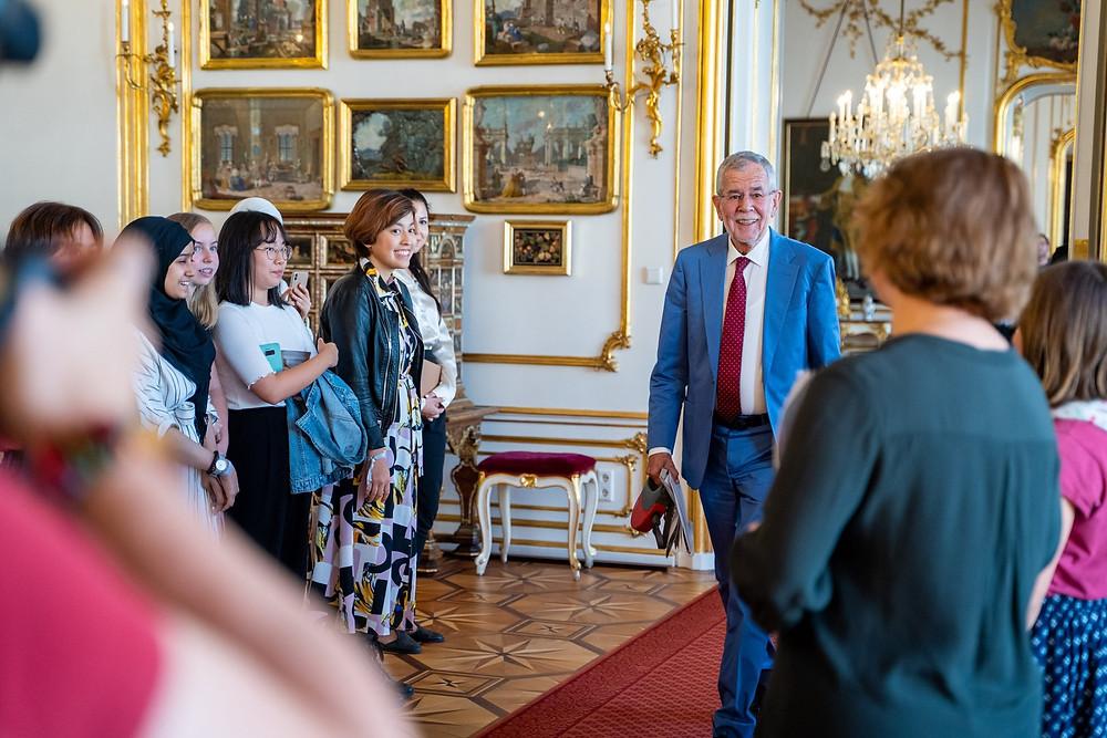 Preisverleihung 2019 in der Wiener Hofburg mit Bundespräsident V.d.B.