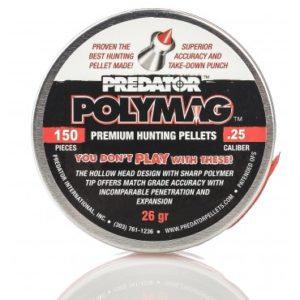 150 Polymag .25 Pellets