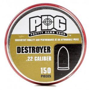 150 .22 PDG Destroyer Pellets