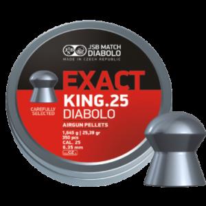 300 JSB .25 Exact King Heavy Pellets