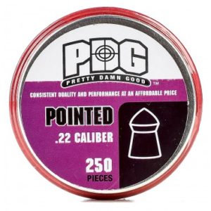 250 .22 PDG Pointed Pellets