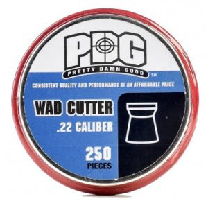 250 .22 PDG Wad Cutter Pellets