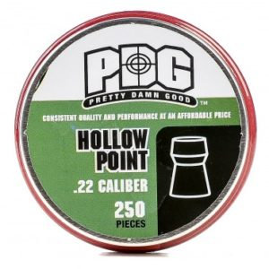 250 .22 PDG Hallow Pointed Pellets