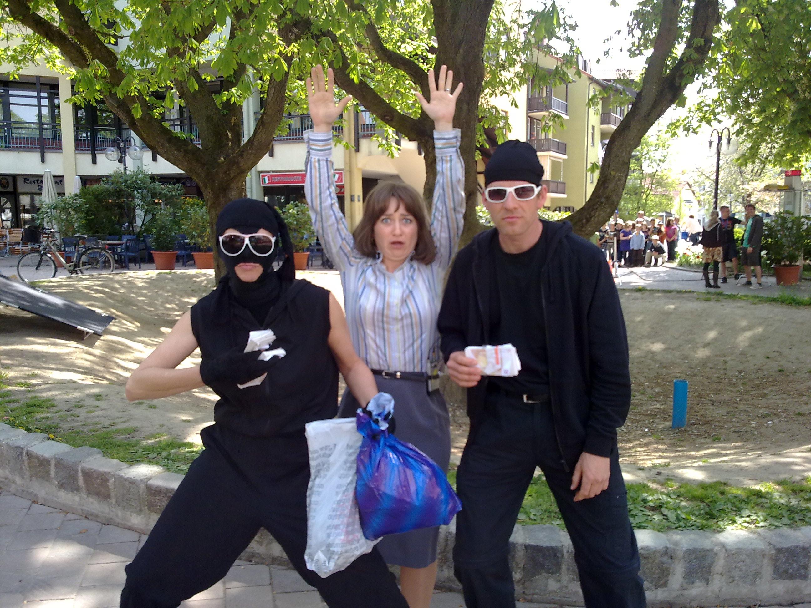 Stuntplayer Tim Vetter - Die Komiker