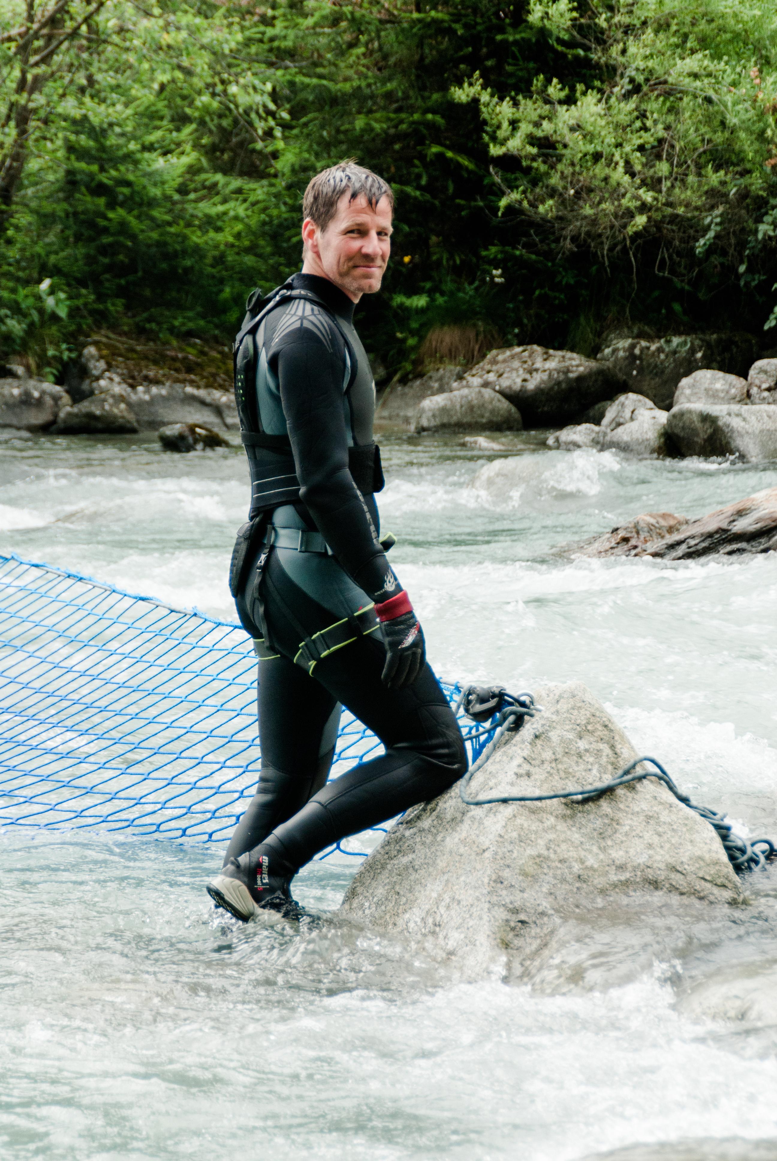 Stuntrigger Tim Vetter - Amelie rennt