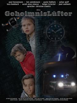 Filmposter Die Geheimnislüfter Regisseur Tim Vetter