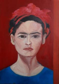 Kırmızı Kurdelalı Kız