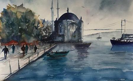 Ortaköy Manzarası